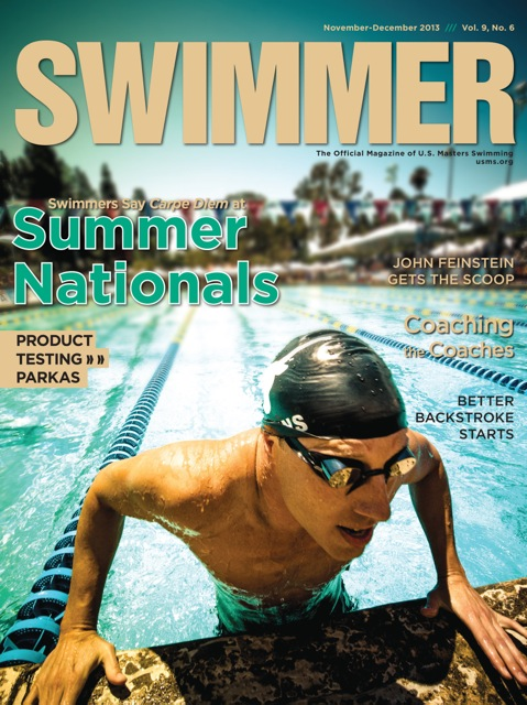 USMS Swimmer Magazine by Mike Lewis