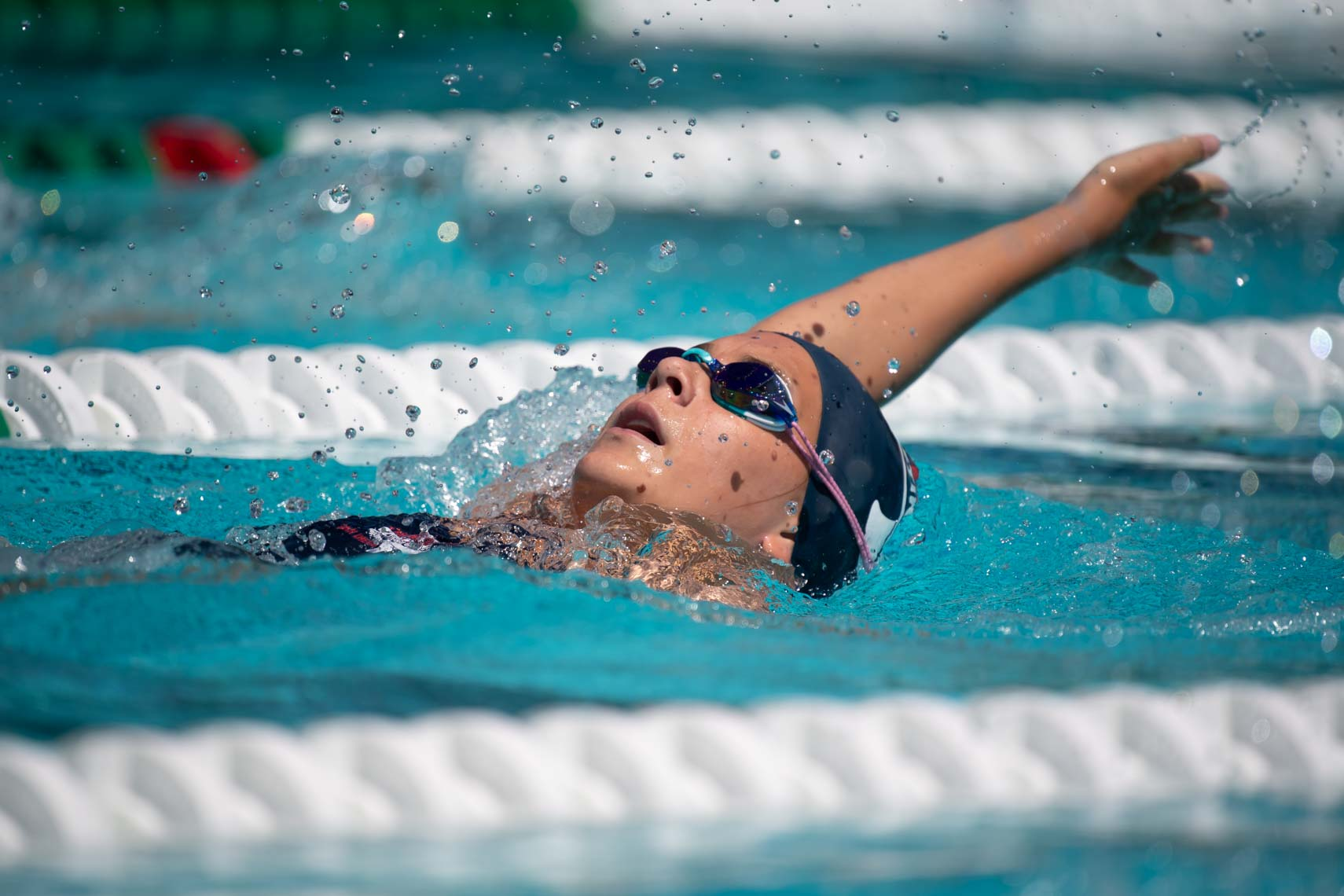 age group swim meet by Mike Lewis