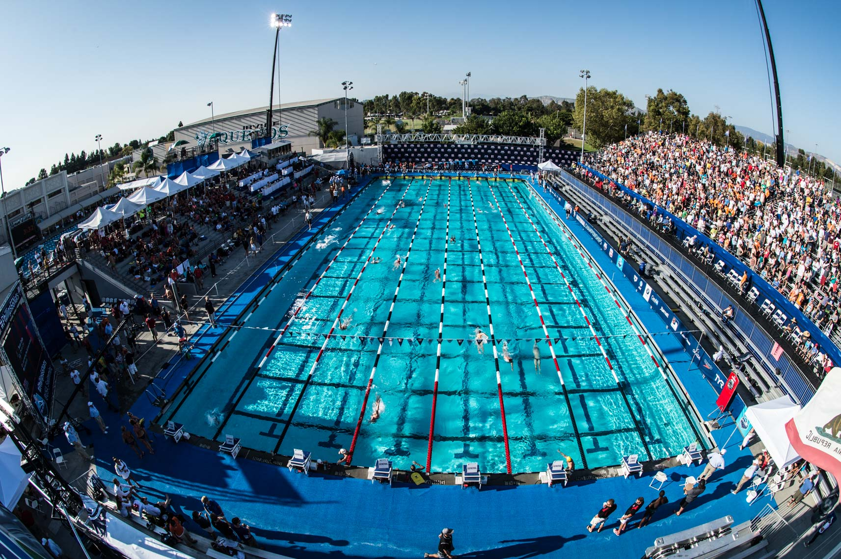 Irvine Woollett Aquatic Center Irvine