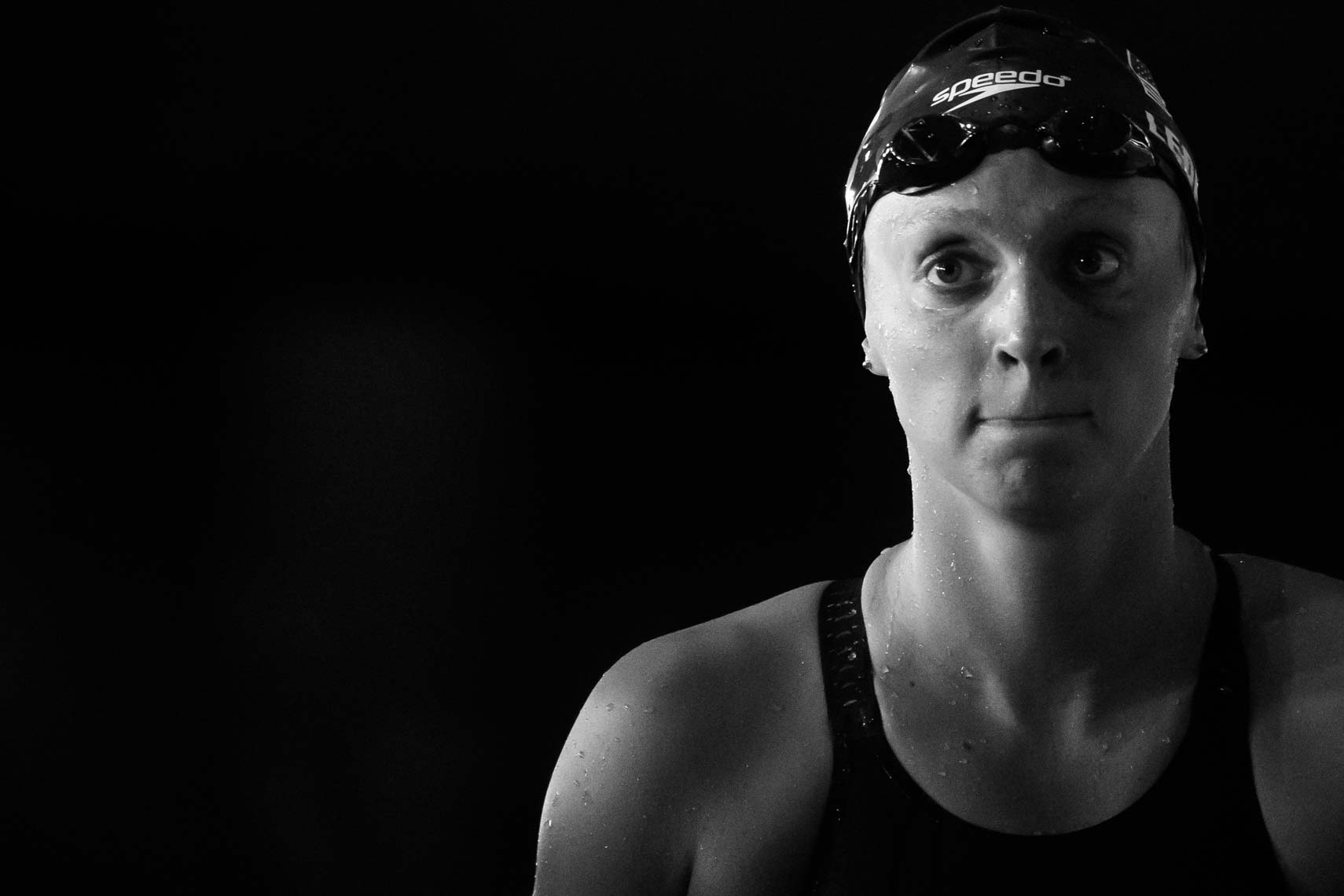 Katie Ledecky by Mike Lewis