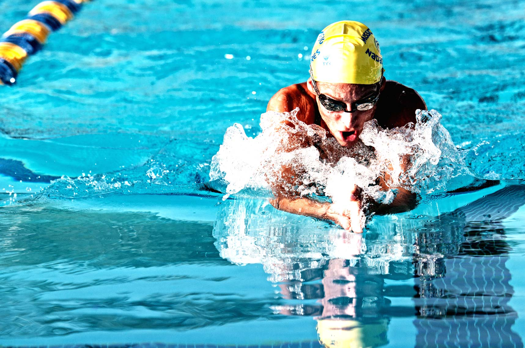 breaststroke swimmer