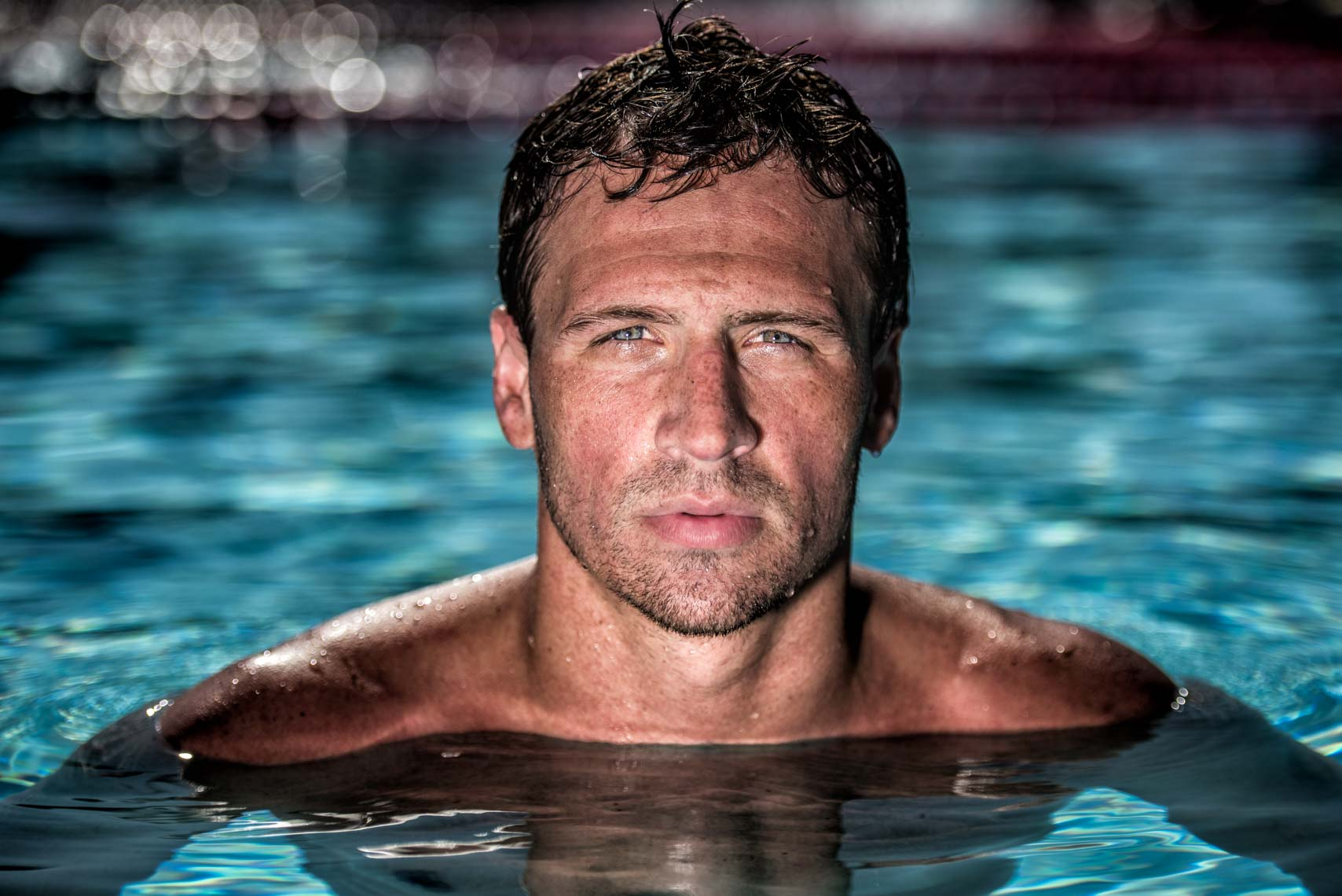 Ryan Lochte by Mike Lewis