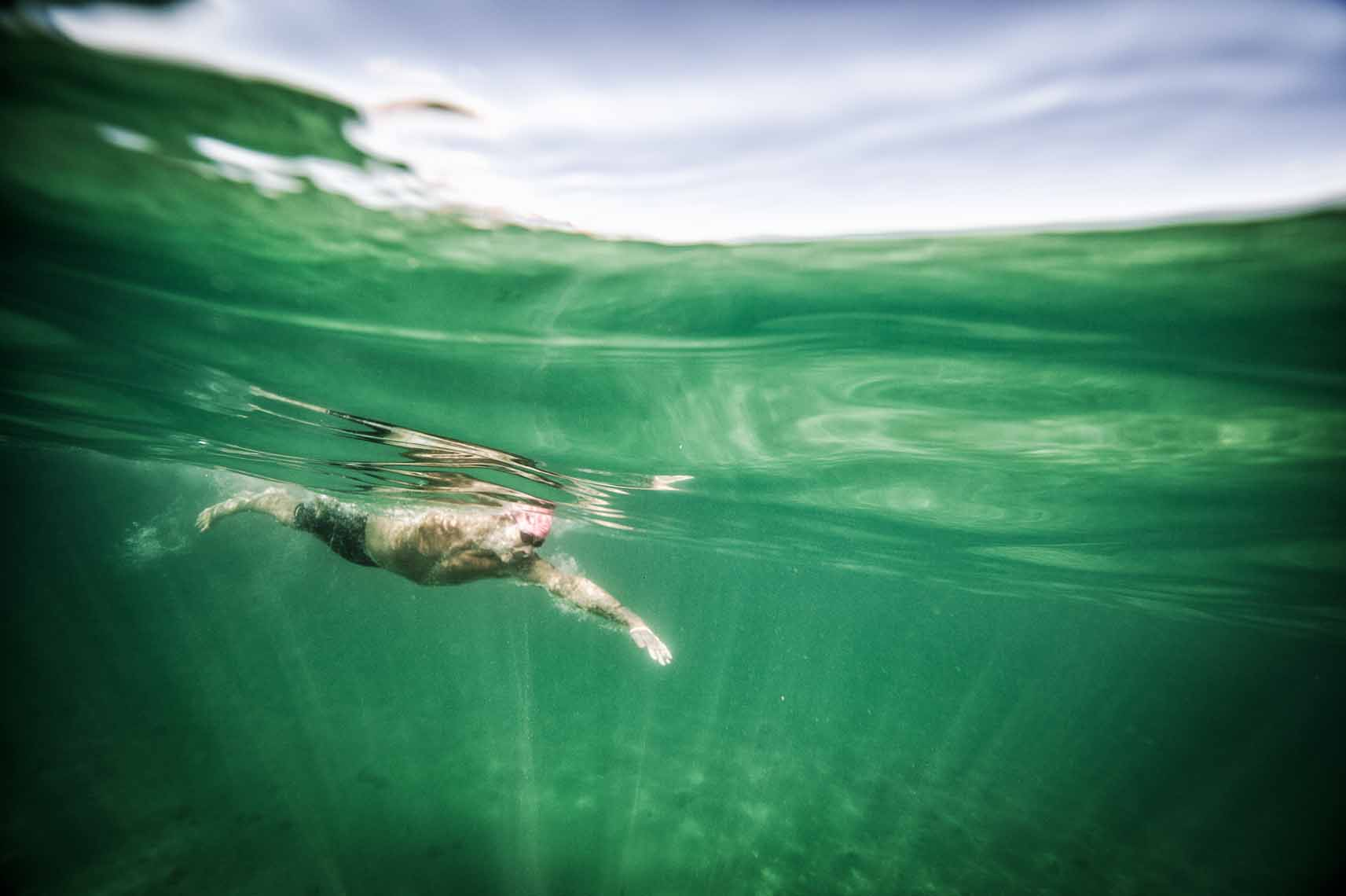 underwater photography open water swimming
