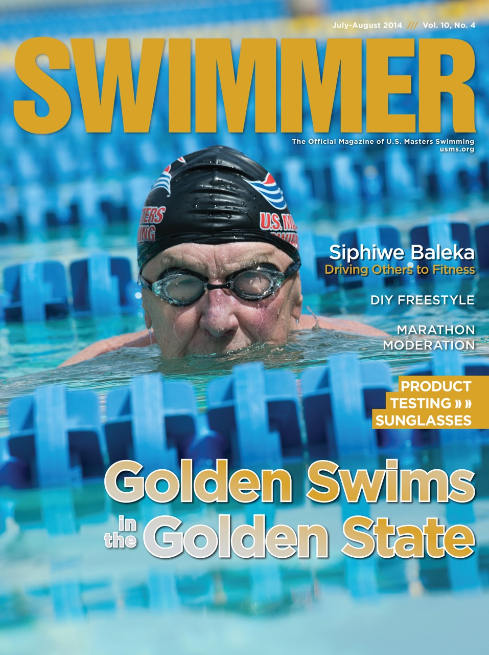 Swimmer Magazine Cover