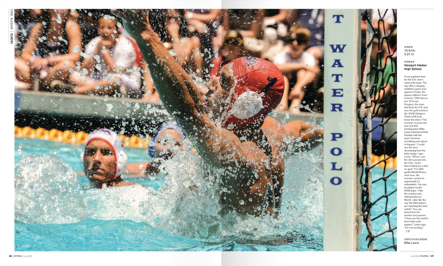 Merrill Moses USA Water Polo