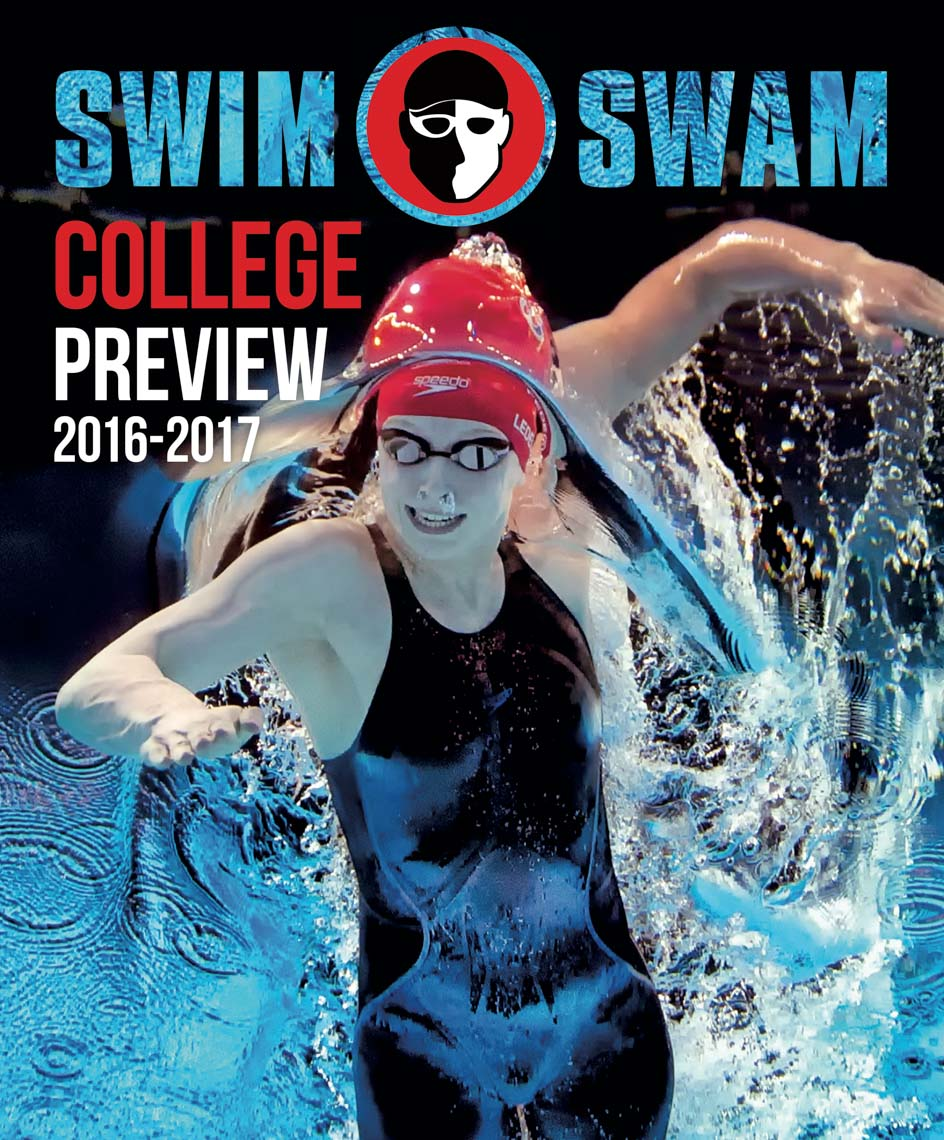 SwimSwam Issue 4 Katie Ledecky by Mike Lewis