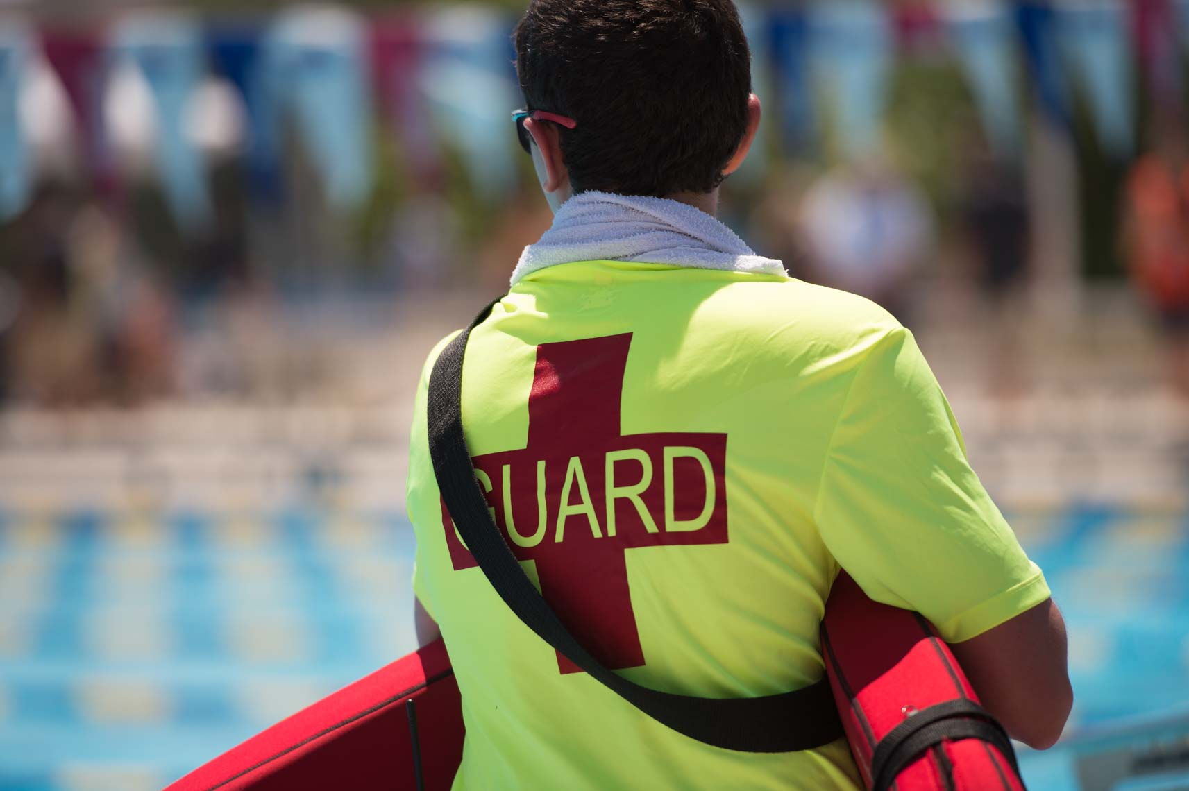 Lifeguard stock by Mike Lewis