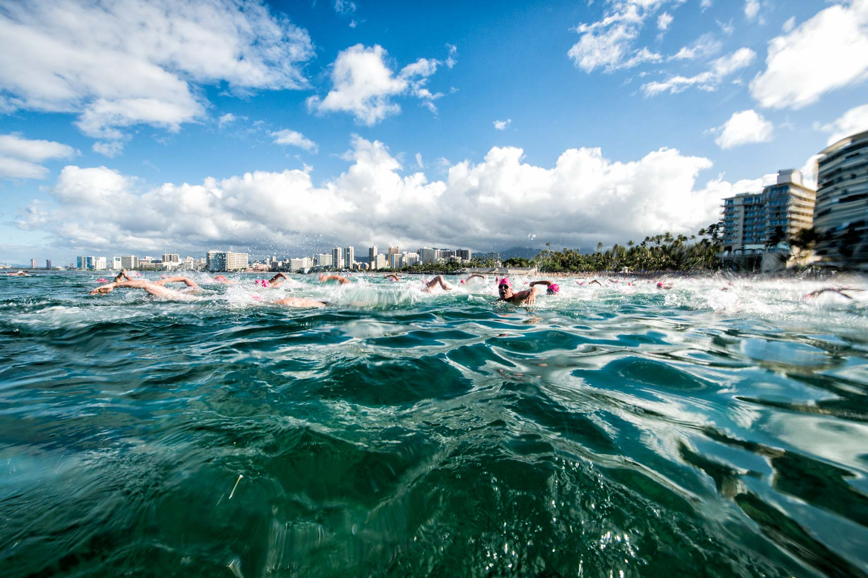 Nice Start - 2013 Waikiki Roughwater Swim